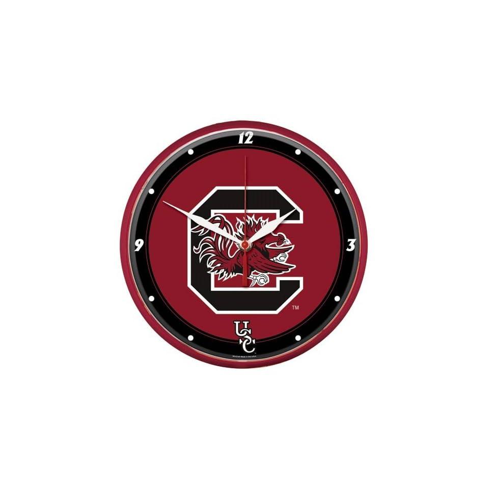 NCAA South Carolina Gamecocks Round Wall Clock