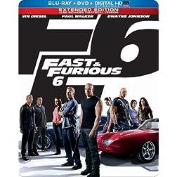 Fast & Furious 6 (Steelbook) (Blu-ray + DVD + Digital HD with UltraViolet)