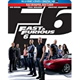 Fast & Furious 6 (Steelbook) (Blu-ray + DVD + Digital HD with UltraViolet) ~ Vin Diesel