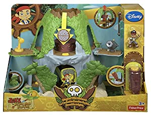Fisher-Price Disney's Jake and The Never Land Pirates: Jake's Magical Tiki Hideout Playset