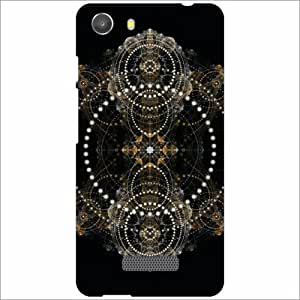 Micromax Unite 3 Q372 Back Cover - Silicon Abstract Designer Cases