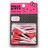 Hello Kitty Golf Rubber Tipped Plastic Tee (15-Piece/Pack)
