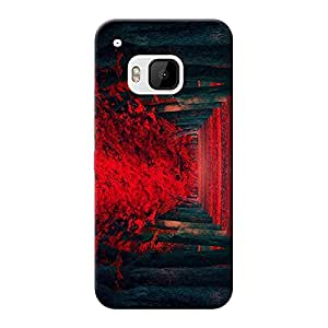 Mobile Back Cover For HTC Desire One M9 (Printed Designer Case)
