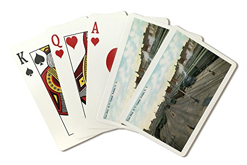 Buffalo, New York - New York Central Train Sheds (Playing Card Deck - 52 Card Poker Size with Jokers) (Central Train New York Poster compare prices)
