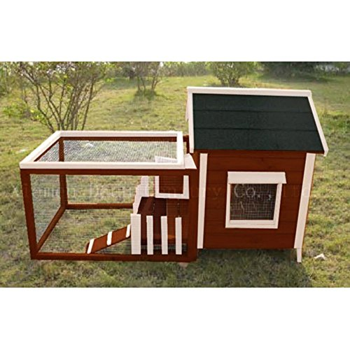 Advantek-White-Picket-Fence-Rabbit-Hutch