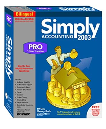 Simply Accounting 2003 Pro (Bilingual)