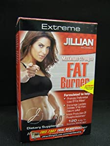 Jillian Michaels Extreme Maximum Strength FAT Burner 120 Metacaps