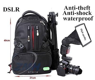 New Impermeabile Lowepro Fotografo Digitale Tela Dslr Camera Bag Zaino Con All Weather Cover Spedizione Gratuita