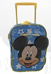 Mickey Mouse Mini Travel Cabin Wheeled Bag Trolley Suit Case Luggage Backpack by Sambro