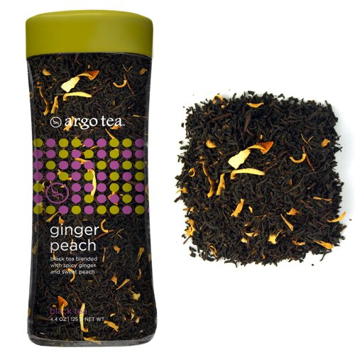Ginger Peach Loose Leaf Tea - 4.4Oz