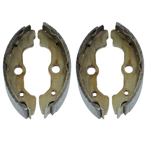Caltric FRONT BRAKE SHOES Fits HONDA TRX450ES TRX-450ES FOURTRAX 450 FOREMAN ES 1998-2003 NEW (2003 Honda Foreman 450 Es compare prices)