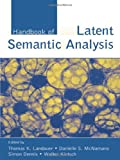 img - for Handbook of Latent Semantic Analysis (University of Colorado Institute of Cognitive Science Series) book / textbook / text book