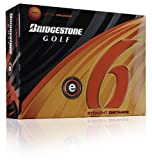 NEW 2011 BRIDGESTONE E6 GOLF BALLS. ONE DOZEN ORANGE