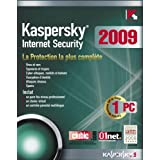 Kaspersky Internet Security 2009 (1 Poste / 1 An)par Kaspersky