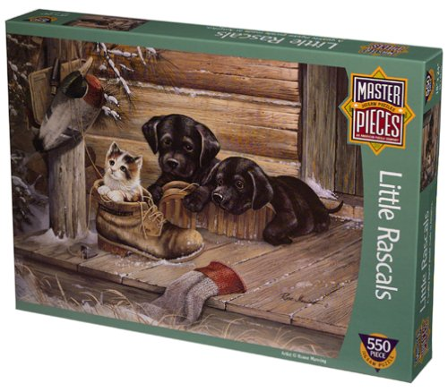 Little Rascals 550 Piece Puzzle by MasterPieces
