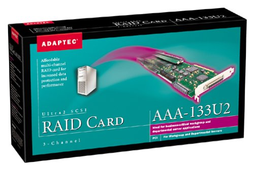 Adaptec 16MB 3-Channel AAA 133U2 PCI-to-Ultra2 SCSI Kit with Upgrade Cache