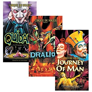 Cirque du Soleil 3-Pack (Quidam / Dralion / Journey of Man) movie