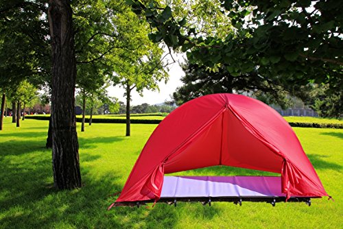 IFLYING Off Ground Backpacking Tent Cot, Ultralight Camping Hiking Alpine Tent Cot (Pink) (Jake And The Neverland Pirates Sleeping Bag)