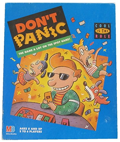 Don't Panic; Cool Is the Rule; the Name a Lot on the Spot Game - 1