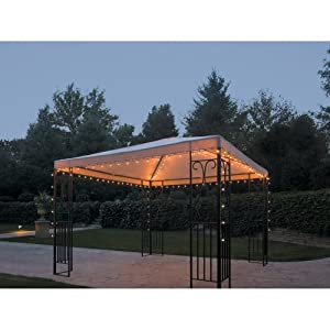 Outdoor String Lights For Gazebo : Patio String Lights: Gazebo 140-Light String