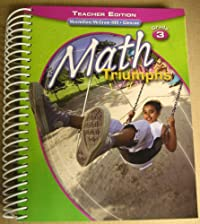 Math Triumphs Grd 3 Teacher Edition download ebook