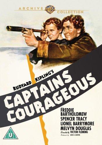 Captain Courageous [1937] [Reino Unido] [DVD]