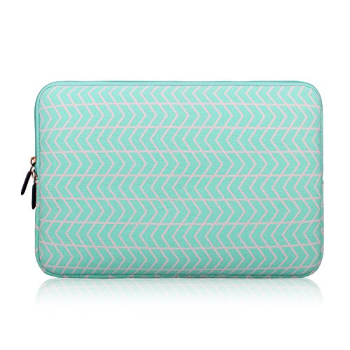 Zikee Laptop Sleeve Case Bag 15 15 4 15 6 Inch Canvas Fabric Notebook Computer Briefcase