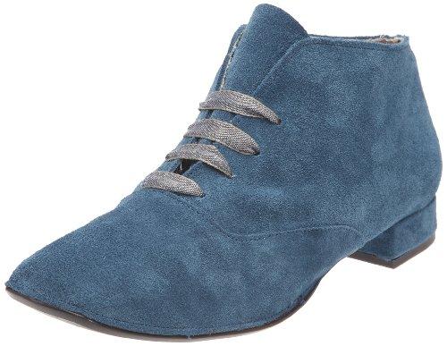 Stéphane Gontard Pivoine, Scarpe donna, Blu (Bleu (velours jeans)), 36