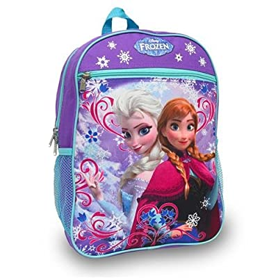 Disney Frozen Princess Elsa and Anna School Backpack by Disney Frozen