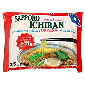 Sapporo Ichiban Ramen, Original, 3.5-Ounce Packages (Pack of 21)