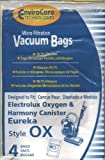 Generic Electrolux OX Vacuum Bags, 4 Pk. Fits 61320 EL200