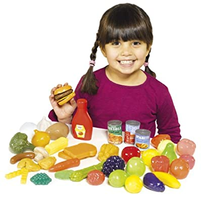 Casdon 618 Play Food Set (44 Pieces)