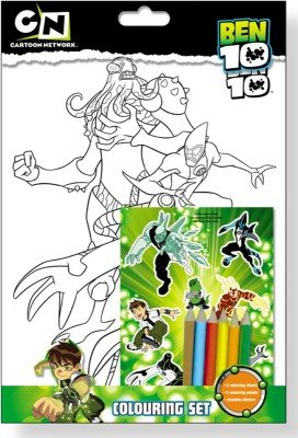 Ben 10: A4 Colouring and Sticker Set