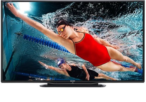 Sharp LC-60C7500U 60-Inch Class Aquos 1080p 240Hz Smart LED HDTV with Quattron