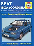 Seat Ibiza and Cordoba (1993-99) Service and Repair Manual (Haynes Service and Repair Manuals)