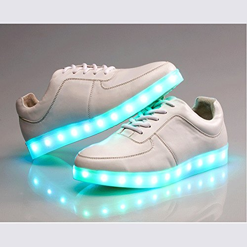 Acever Sports Shoes Led Sneakers Christmas Gift Philips Led Component Light Color Changing Rave Party Shoes Christmas Shoes Halloween Shoes Valentine'S Day Gift Birthday Gift (Us 8.5 For Men)