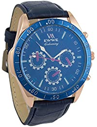 Addic EWWE Stylish Dark Blue Tachymeter And Blue Case With Blue Strap And Dark Blue Sports Dial For Men (52)