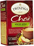 Twinings Spiced Apple Chai Tea, 1.41 oz, 20 ct
