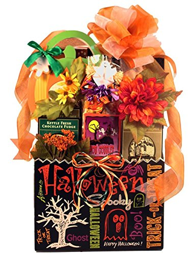 Gift Basket Village Halloween Gift Basket with Tricks and Treats