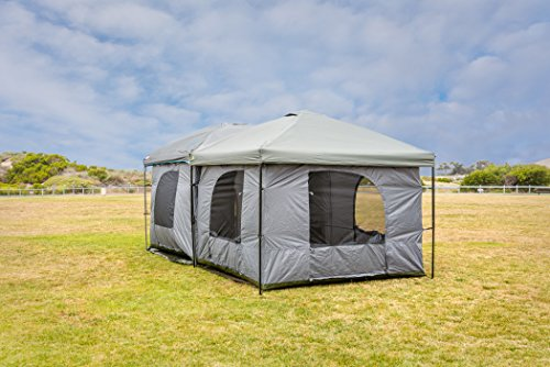 $199.00 ... & Standing Room 100 Family Cabin Camping Tent With 8.5 feet of Head ...