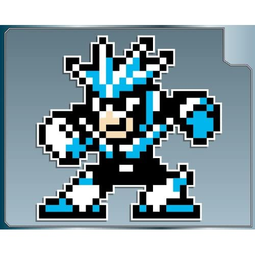 ".com: GEMINIMAN from Megaman 3 vinyl decal sticker 4"" Mega Man 8bit"