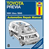 Toyota Previa (91-95) Automotive Repair Manual (Haynes Automotive Repair Manuals)by Robert Maddox