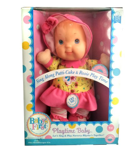 Baby's First Playtime and Lullaby- Patti-cake Pink Top