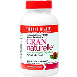 Vibrant Health - Cran-Naturelle - Supports Urinary Tract & Healthy Circulation, 60 count (FFP)