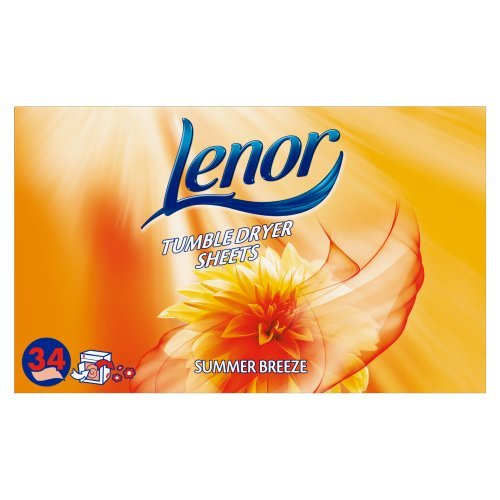 lenor-summer-breeze-tumble-dryer-sheets-pack-of-34