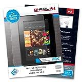 atFoliX Displayschutzfolie für Kindle Fire HD (2 Stück) – FX-Clear: Displayschutz Folie kristallklar! Höchste Qualität – Made in Germany!