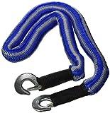 Abschleppseil 2800kg elastisch Pannenhilfe Seil Abschleppen Zugseil Spannseil