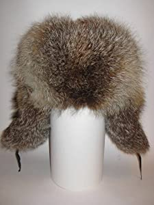 Winter Hat Ushanka Natural Fur Fox * Russian * h.2.fox.u.M