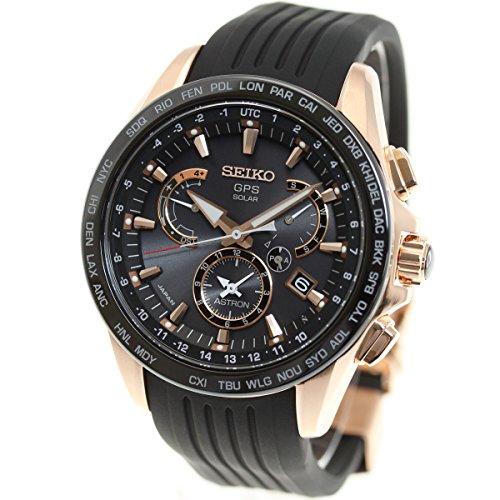 [アストロン]ASTRON 腕時計 ソーラーGPS衛星電波修正 サファイアガラ 10気圧防水 SBXB055 メンズ