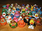 20 Assorted UNIQUE Mini RUBBER DUCKS/DUCKIES/ALL DIFFERENT/No Duplicates/HOLIDAYS/Sports/PARTY FAVORS